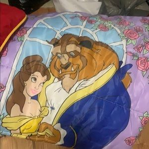 Other - Vintage Beauty and the Beast sleeping bag
